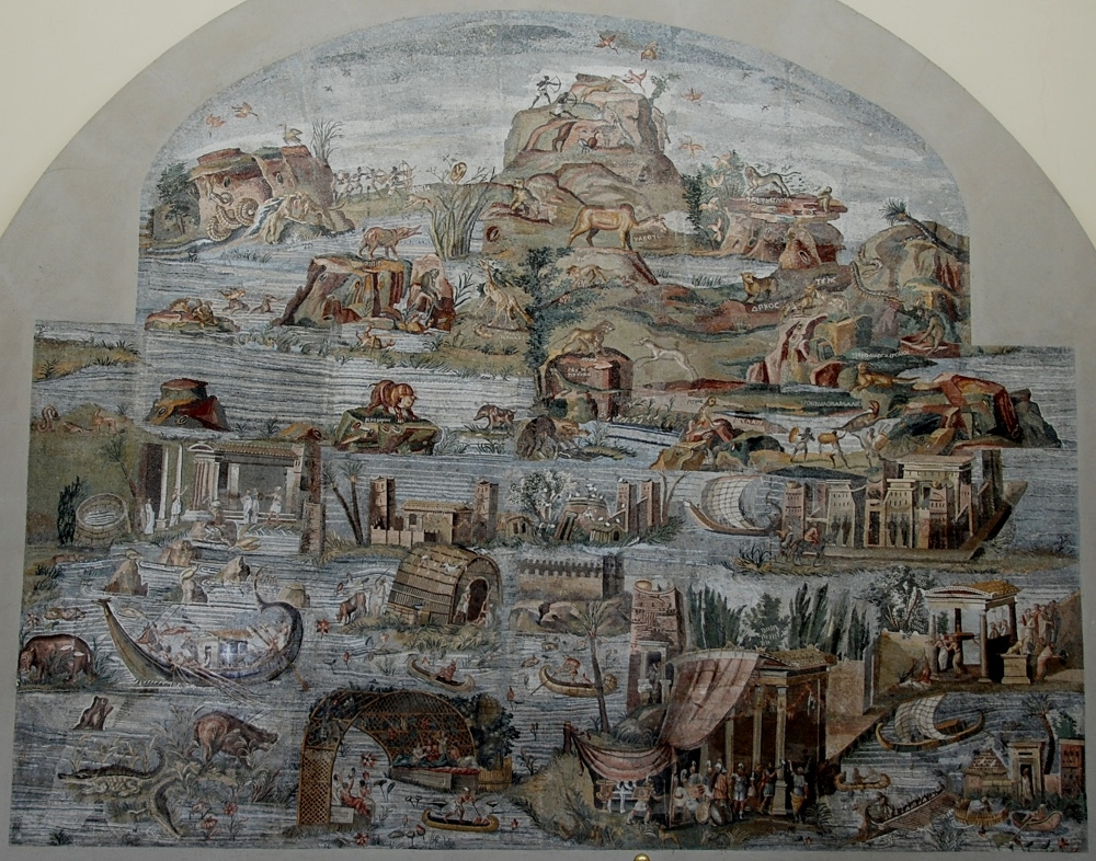 The Nile mosaic