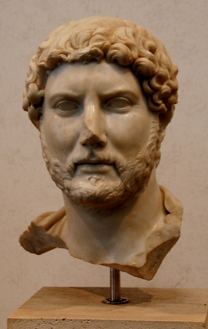 Head of Emperor Hadrian