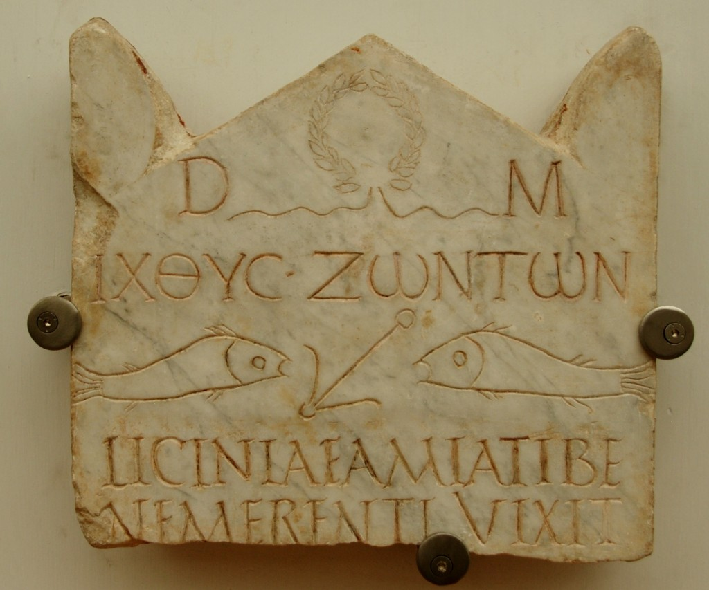 an early christian inscription IIId. c. CE