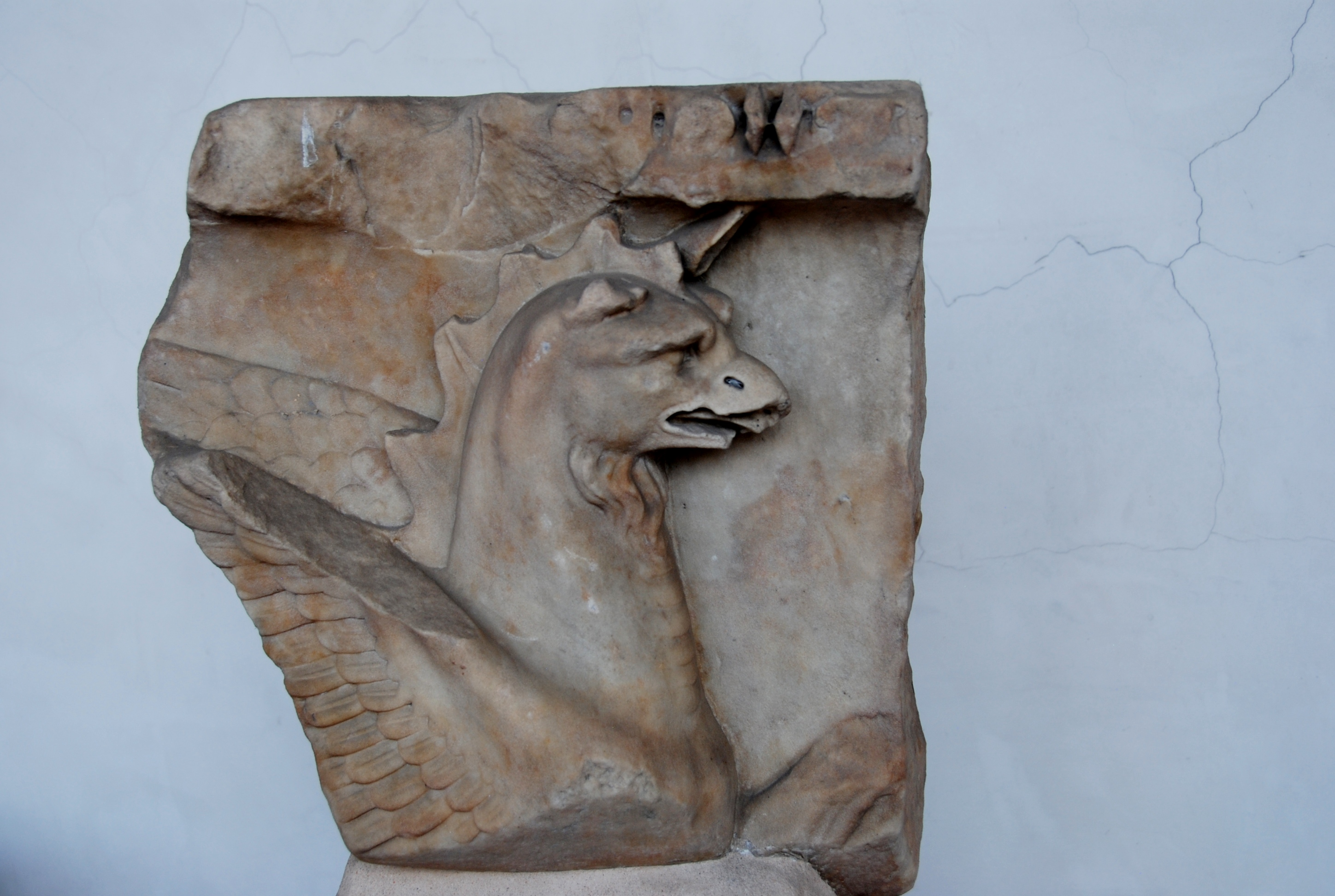 the relief of a Gryphon