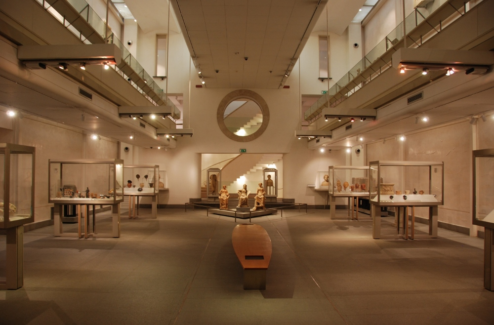 the Charterhouse interior converted to museum space